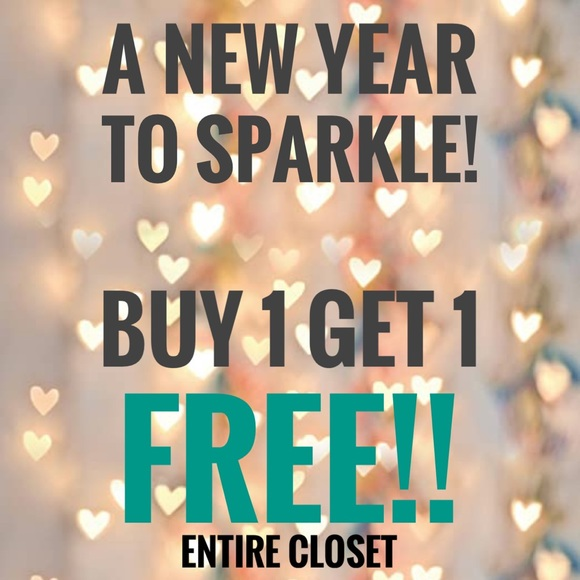 Buy 1 Get 1 Free End of the Year Sale!!